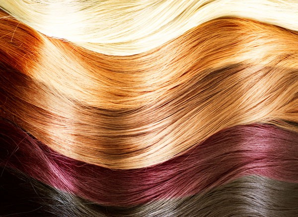 hair coloring shades highlights