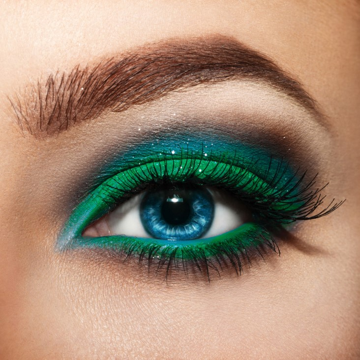 picking makeup by eye colors